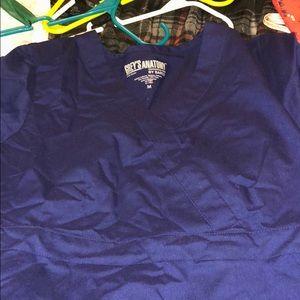 Greys Anatomy scrub shirt